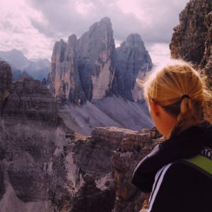 favorite hike with VIew Tre Cime Drei Zinnen